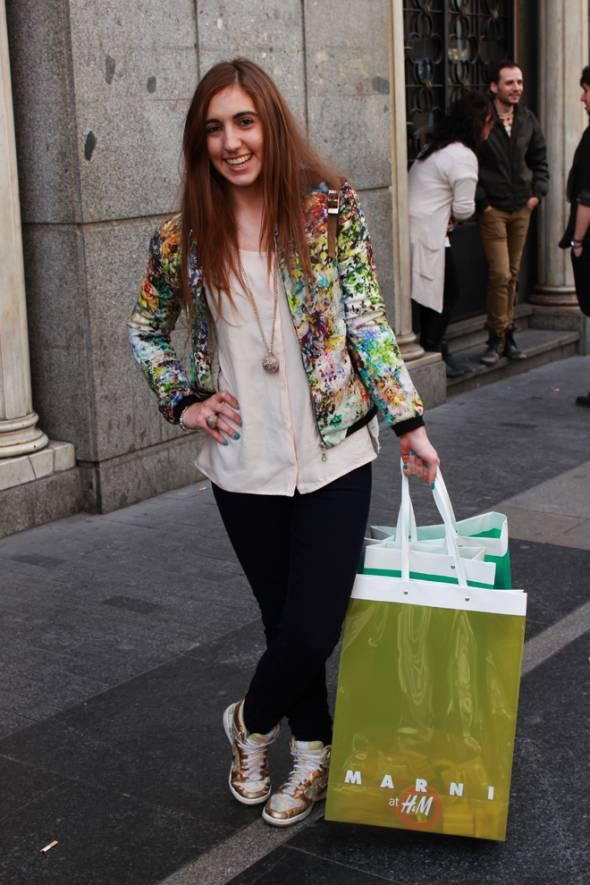 Street Style Marni para H&M