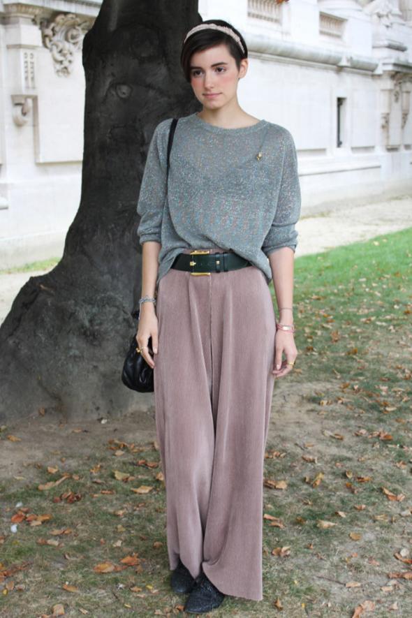 Street Style parisino otoño/invierno 2012