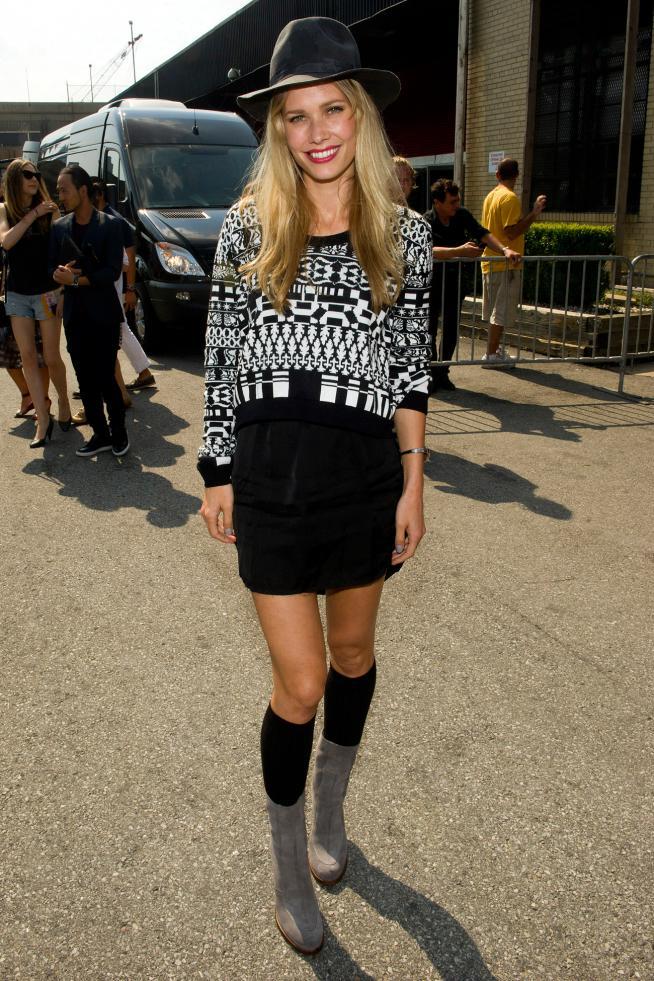 Celebrities en New York Fashion Week