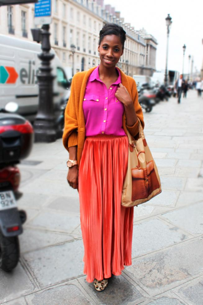 Inspiración pleated skirts