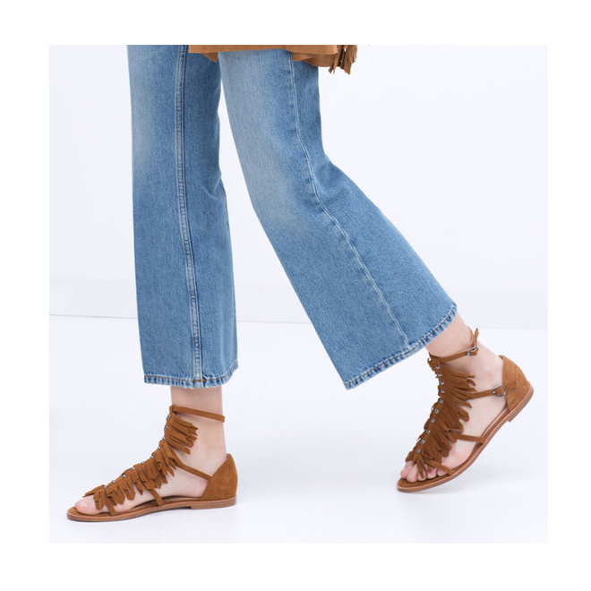 Sandalias para el verano