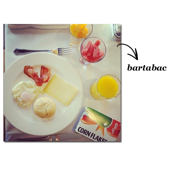 Un desayuno de blogger