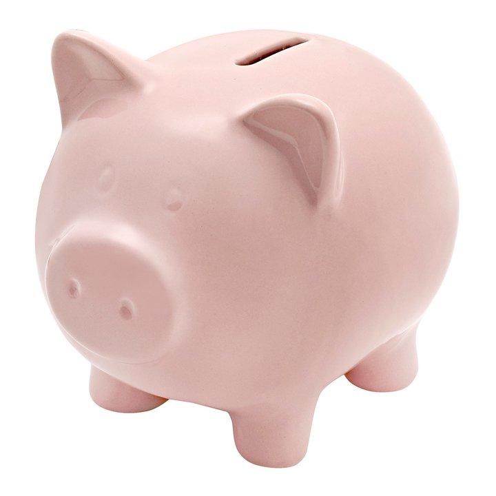 Hucha Cerdito Piggy de El Corte Inglés: piezas cumplir propósitos