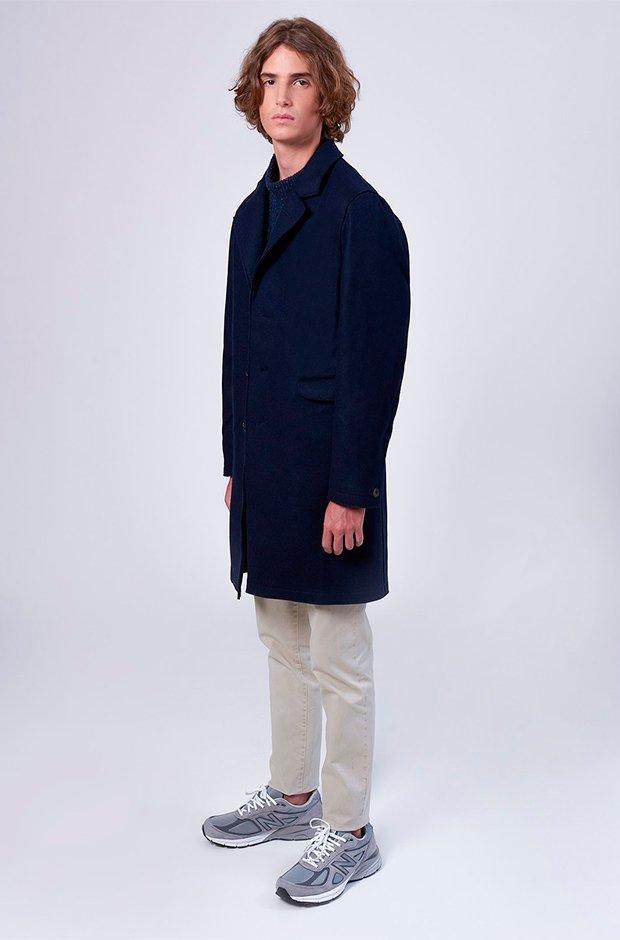 Abrigo de lana de Edmmond