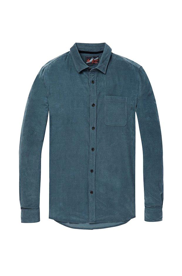 Imprescindibles de invierno masculinos: Camisa de pana