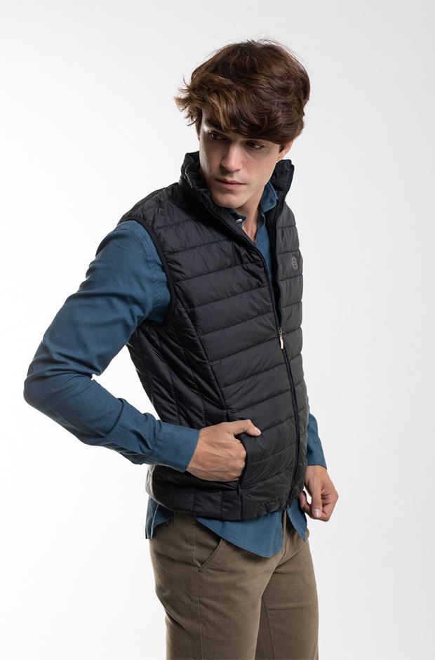 Imprescindibles de invierno masculinos: Chaleco acolchado