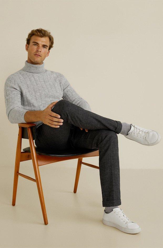 Imprescindibles de invierno masculinos: Jersey de cuello alto