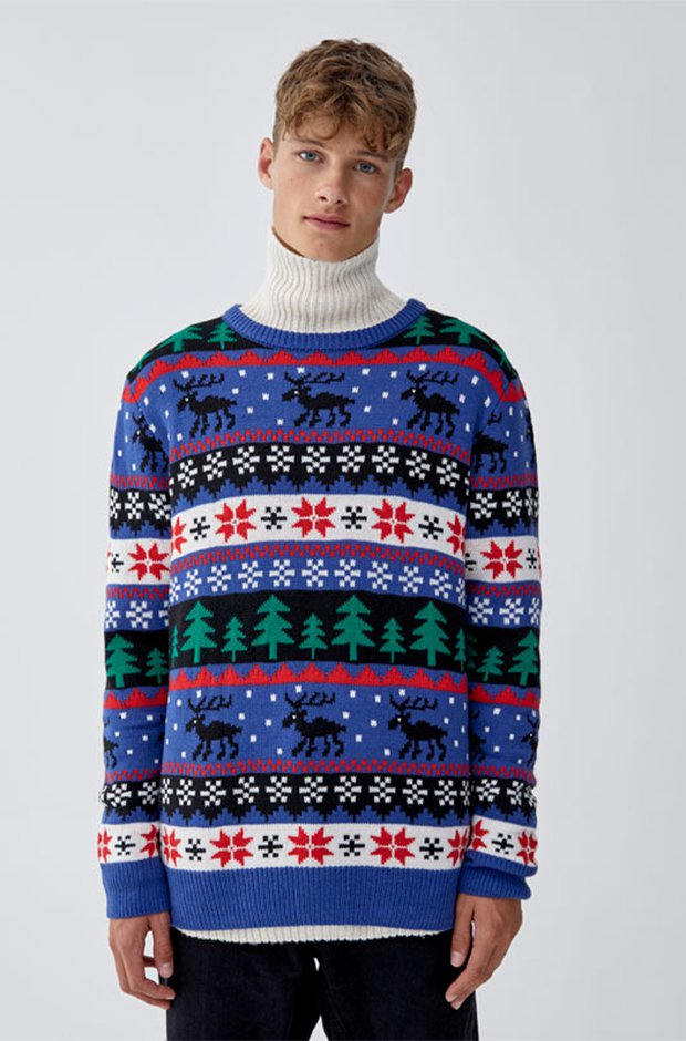 Imprescindibles de invierno masculinos: Jersey navideño
