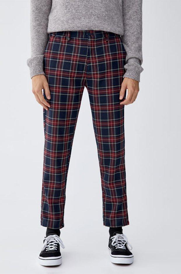 Imprescindibles de invierno masculinos: Pantalones de cuadros