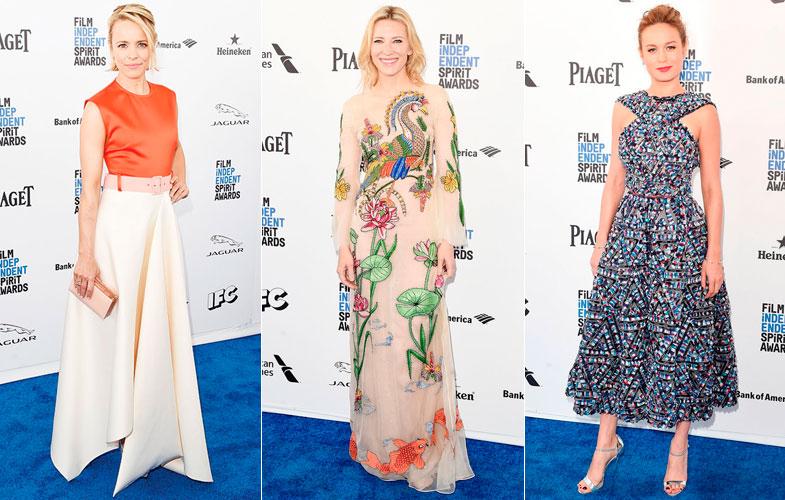 De izq. a der.: Rachel McAdams, Cate Blanchett y Brie Larsson