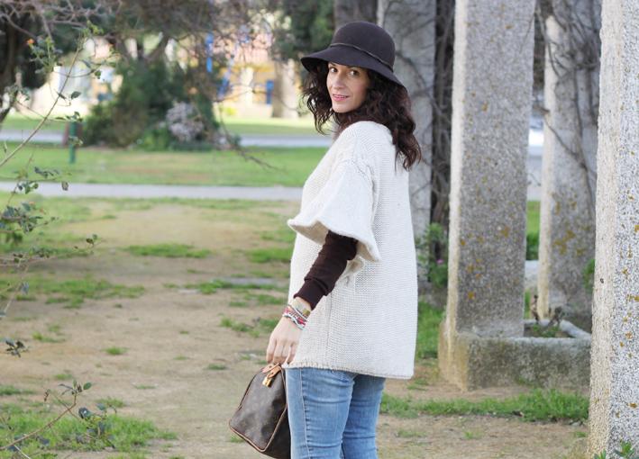 look: poncho de lana - wool poncho-392-stella