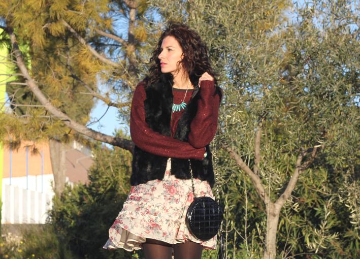 look: vintage print skirt-393-stella