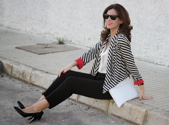 Stripes Jacket -  Chaqueta de Rayas-164-stella