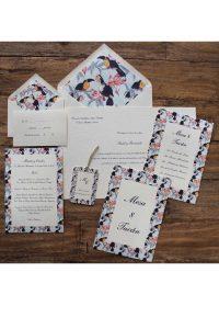 Inspiración: invitaciones de boda