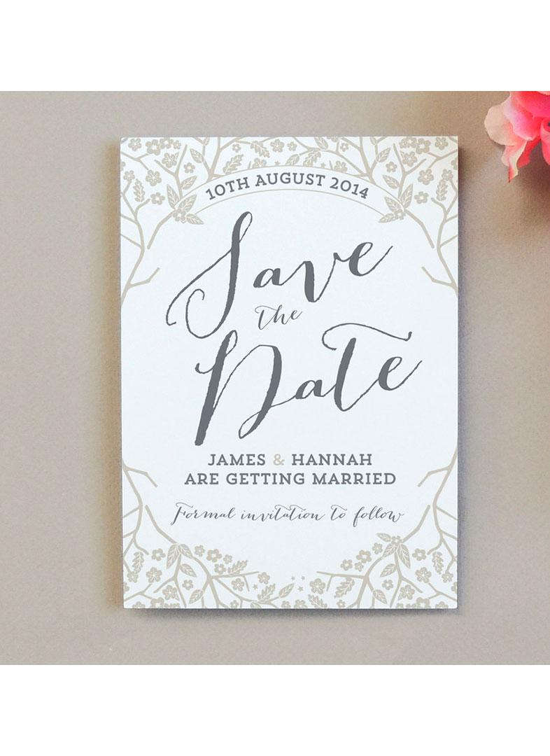 Save the date invitaciones