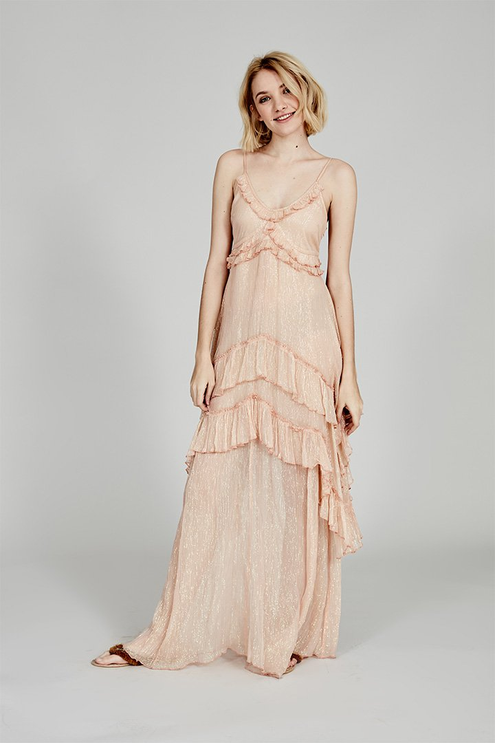 Coosy verano 2018 vestido antiguo