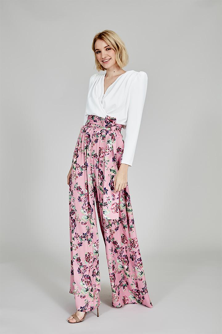 Coosy verano 2018 pantalón flores