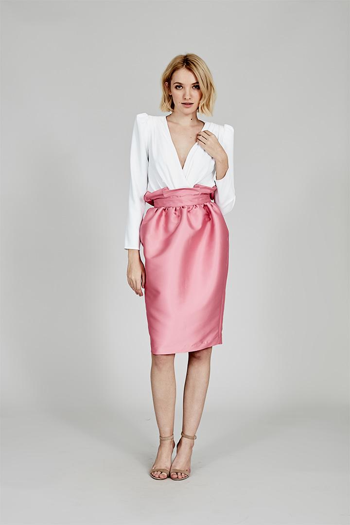 Coosy verano 2018 falda rosa