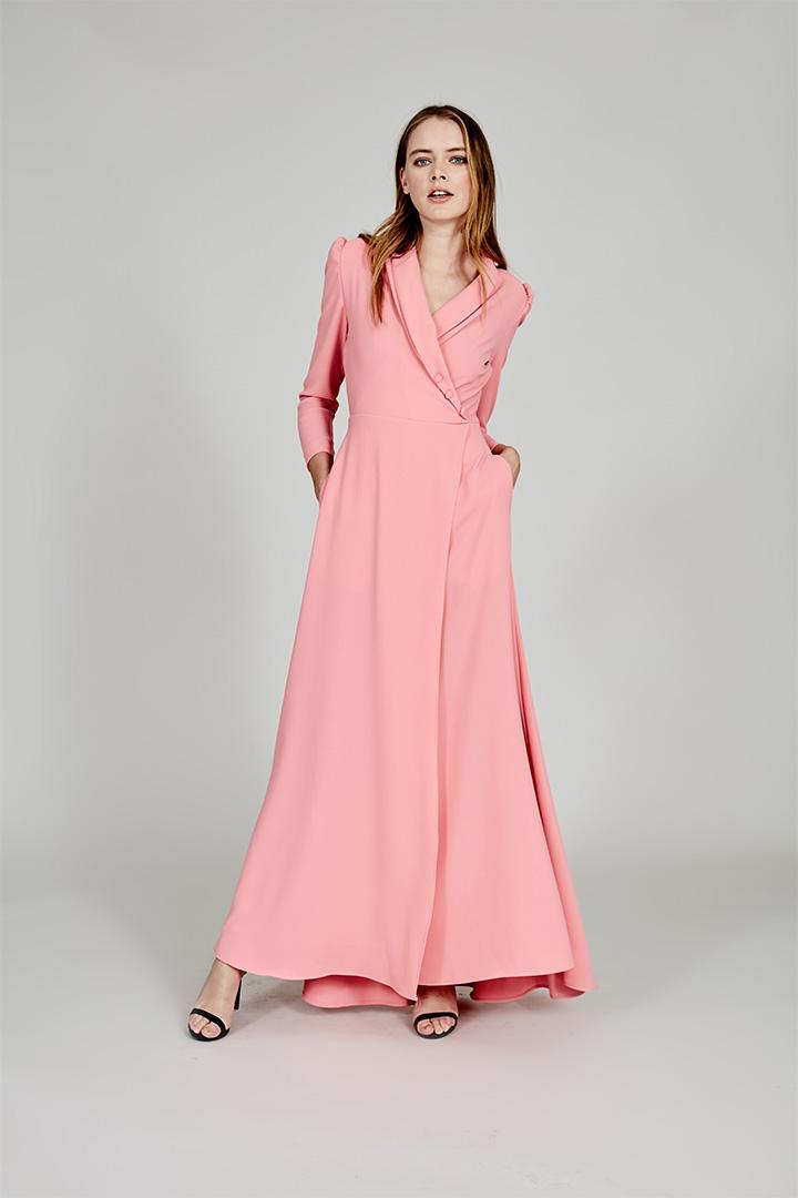 Coosy verano 2018 vestido rosa