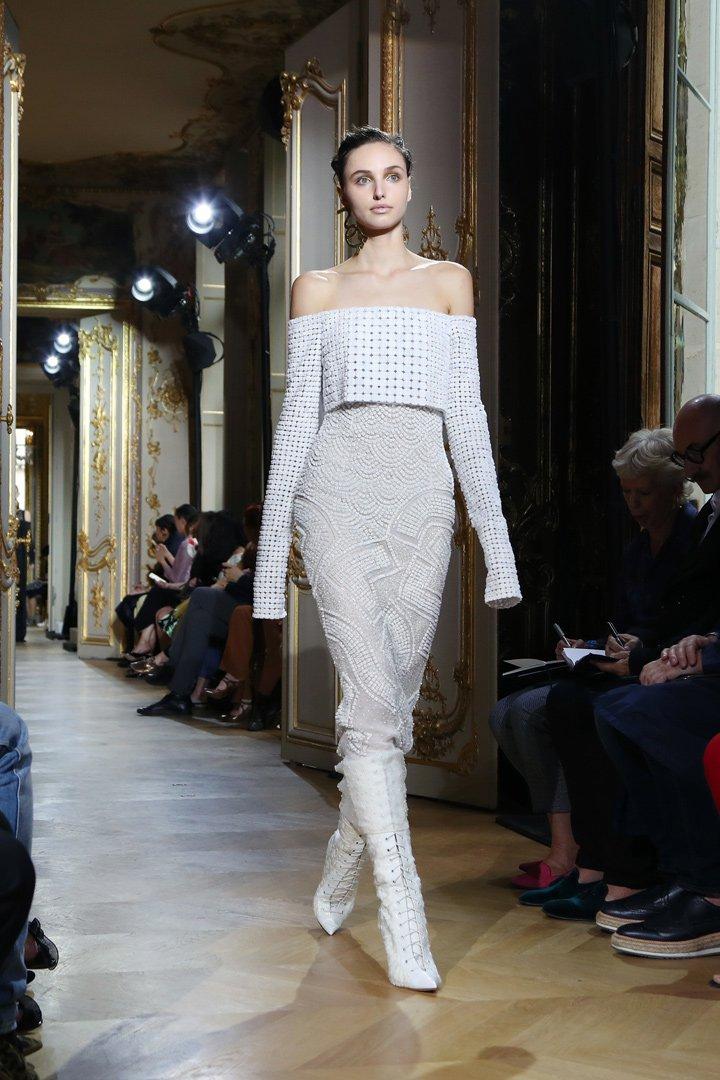 Vestido con relieves de J.Mendel