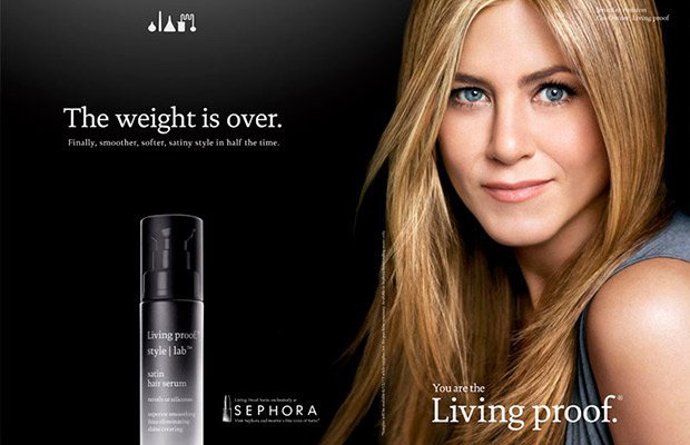 Marcas de belleza de celebrities Jennifer Aniston