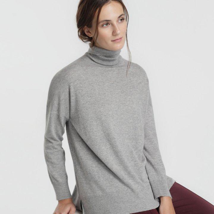 Jersey básico con cashmere de Woman El Corte Inglés: fichajes de rebajas