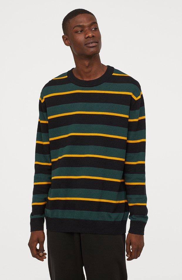 Jersey de punto de H&M: tendencias masculinas 2019