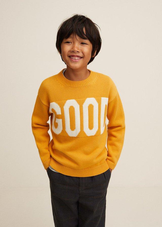 Jersey amarillo de niño de Mango Kids