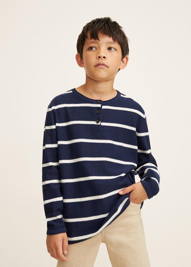 Jersey de rayas de niño de Mango Kids