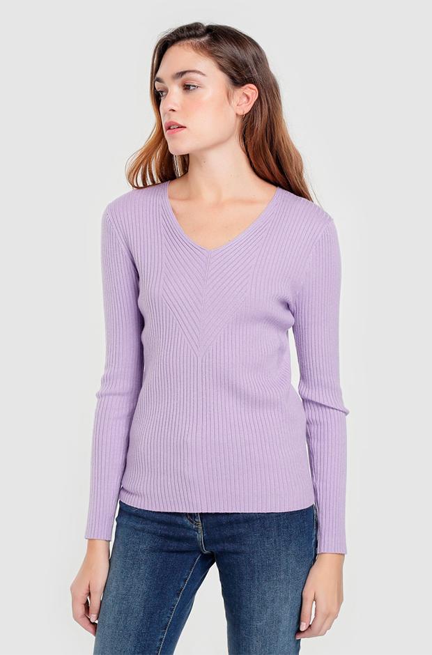 Jersey pico en color lila