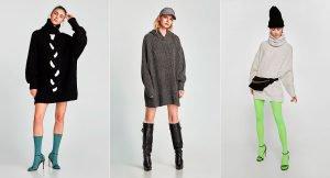 100% Zara: los vestidos jersey que no te quitarás en invierno