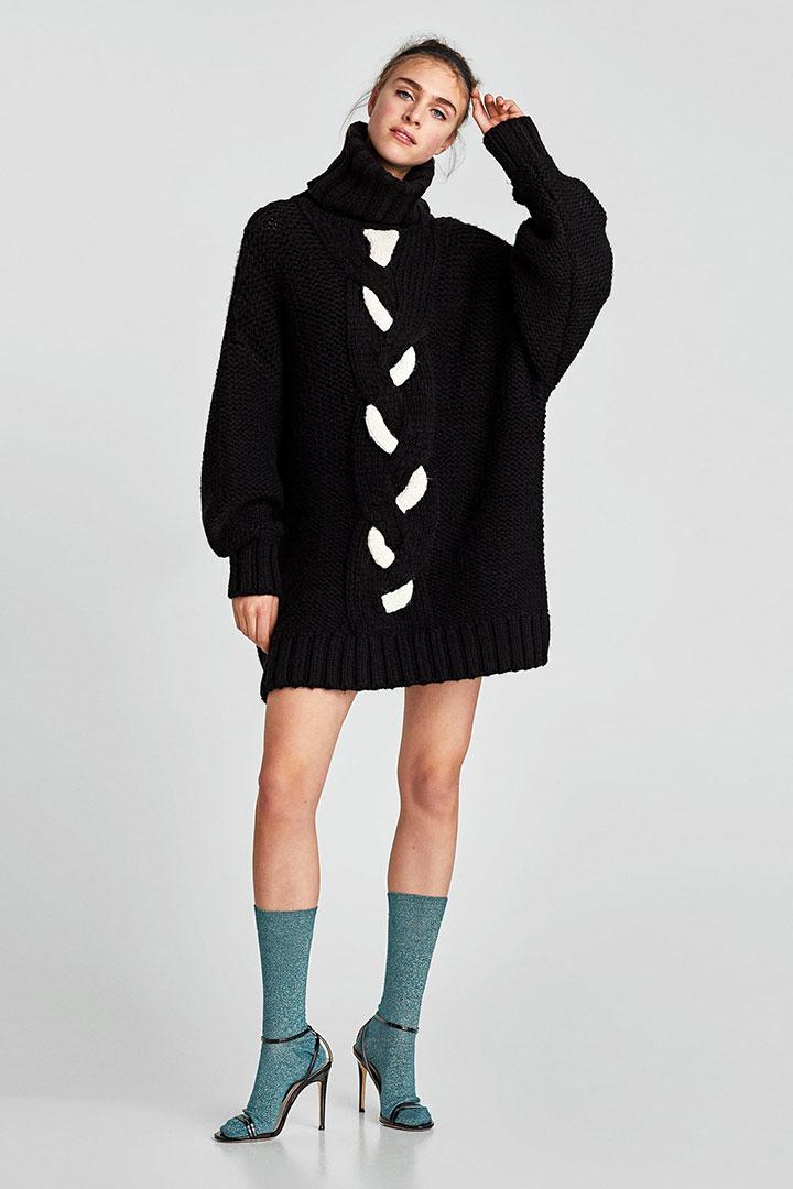 invierno no los te jersey vestidos Zara 100 en quitarás que UwzfTX