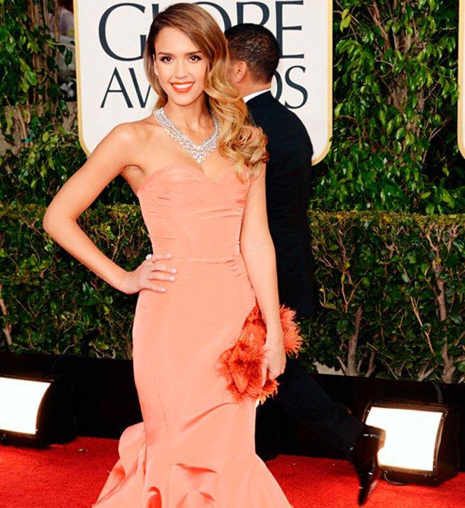 Celebrities vestidas de Óscar de la Renta