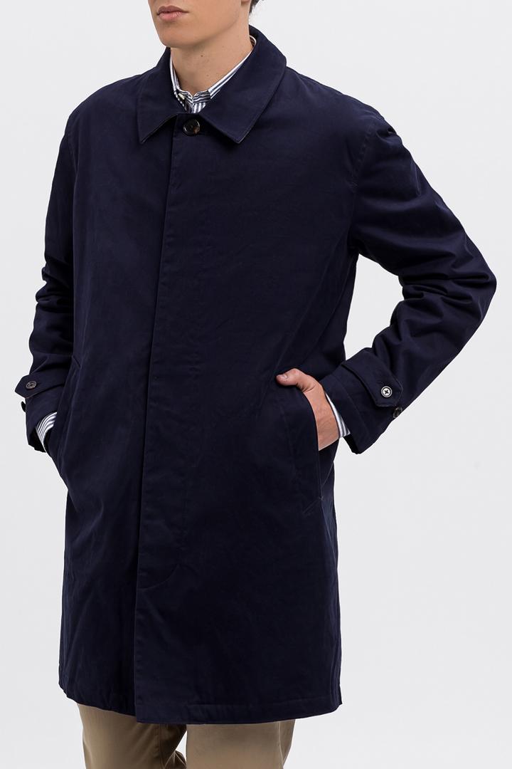 Abrigo azul Gant Chaquetón
