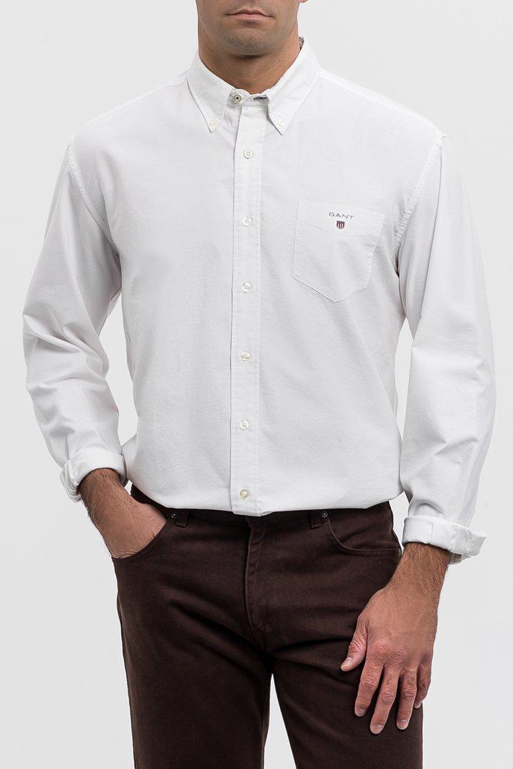 Camisa blanca oxford