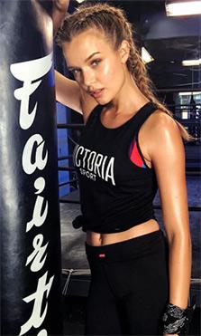 El entrenamiento de los ángeles de Victoria's Secret