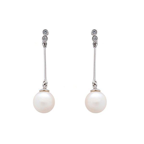 Joyas para San Valentín: Pendientes de perlas