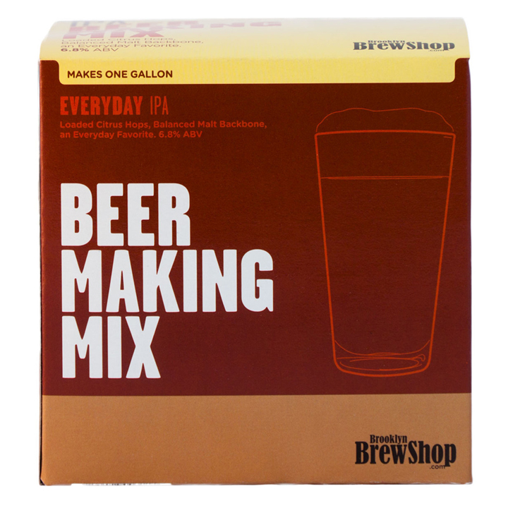 Kit mix DIY de ingredientes de cerveza de Brooklyn Brewshop: regalos amigo invisible