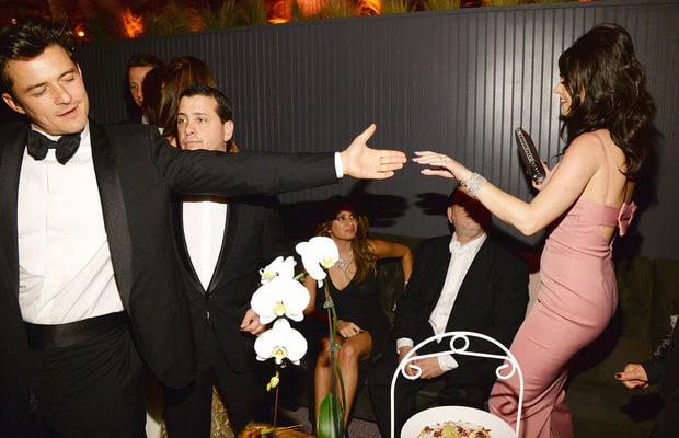 La pareja no paró de bailar en toda la noche