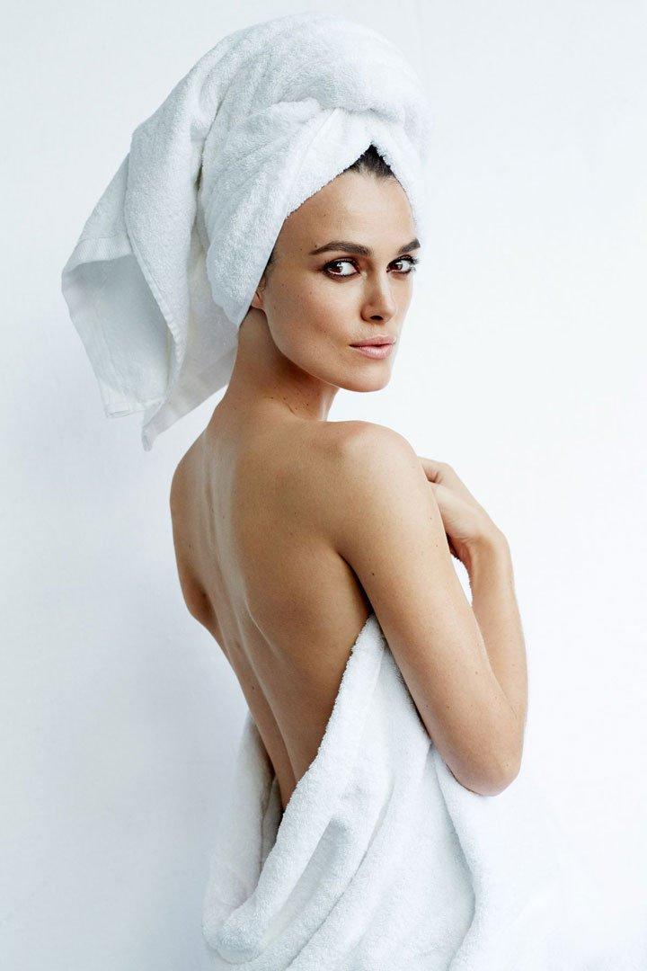Keira Knightley Towel Series