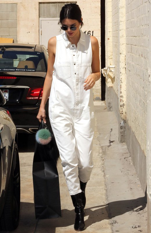 Kendall Jenner boiler suit