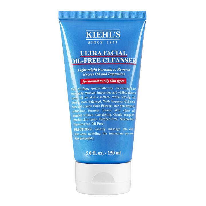 Limpiador Ultra Facial Oil Free de Kiehl's: imprescindibles rutina belleza