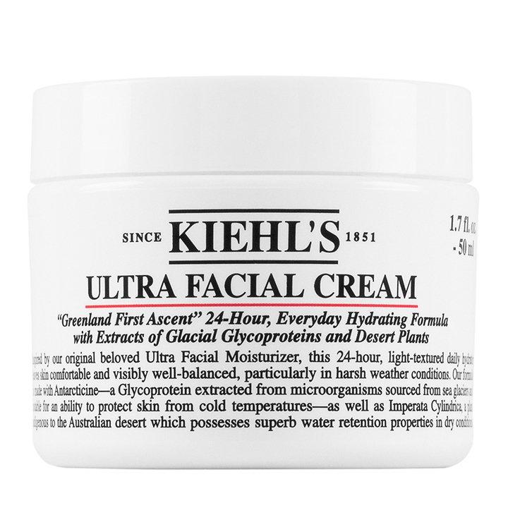 Crema Ultra Facial de Kiehl's: productos mimar tu piel