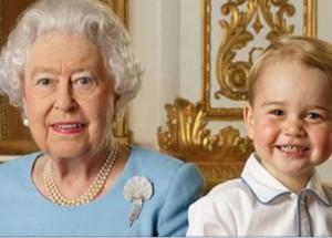 El increíble Face Swap de la Reina y el príncipe George