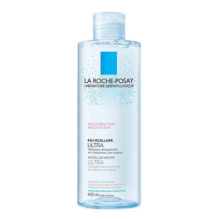 Agua Micelar Piel Reactiva de La Roche-Posay: productos beauty pieles sensibles