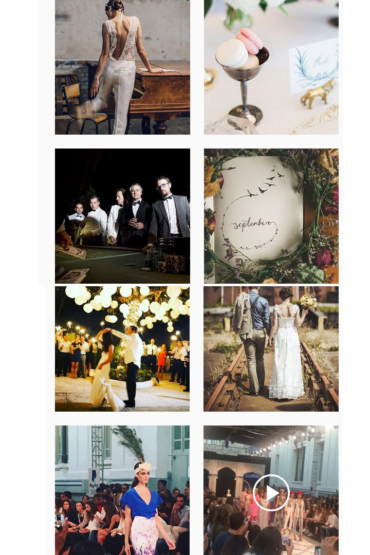 LalaBlu Wedding instagram fotos bodas