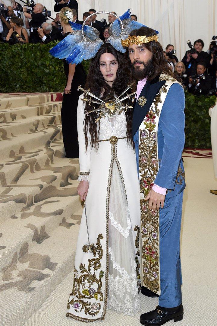 Lana del Rey y Jared Leto Looks Met Gala 2018