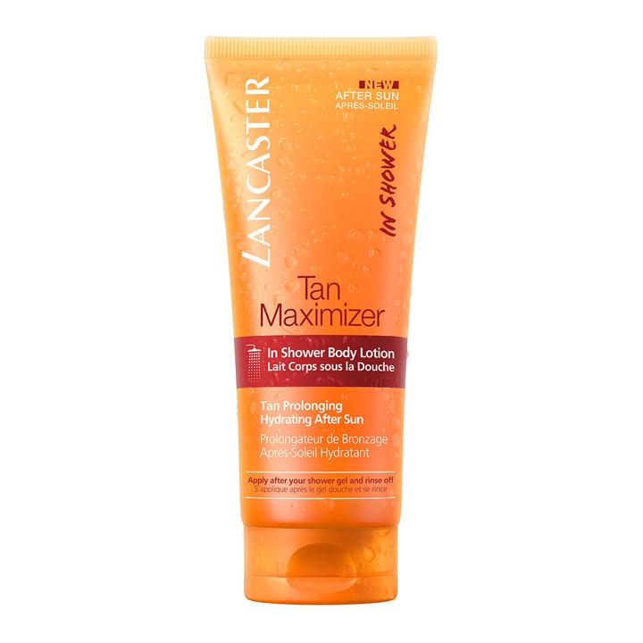 After sun bajo la ducha Tan Maximizer de Lancaster: productos para cuidar la piel
