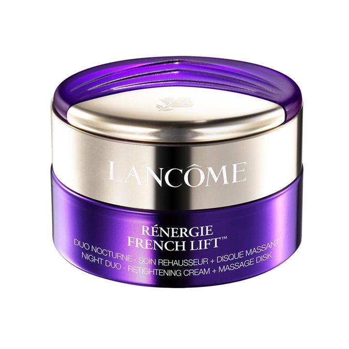 Crema Dúo Noche Rénergie French Lift de Lancôme: productos cuidar piel mientras duermes