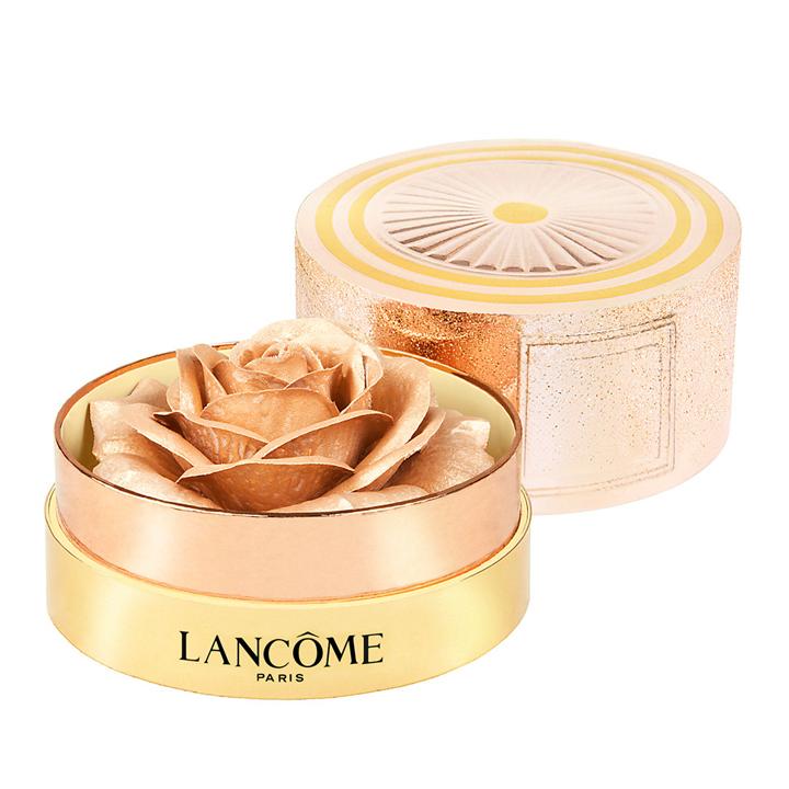 La Rose à Poudrer Holidays de Lancôme: look beauty navidades